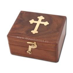 CUTIE altar lemn + cruce metal V205
