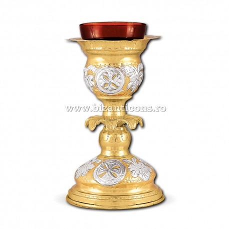 Candela masa - aurita si argintata X36-279