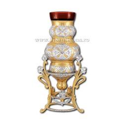Candela masa - aurita si argintata X38-307 / 31-163
